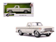 1979 FORD F-150 PICKUP TRUCK STOCK CREAM 1/24 SCALE DIECAST CAR MODEL BY JADA TOYS 31589