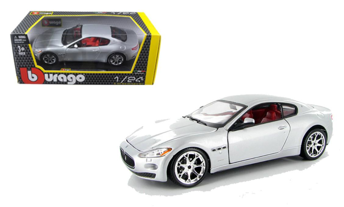 Maserati GT Gran Turismo Coupe Silber Ab 2007 1//32 Bburago Modell Auto mit oder