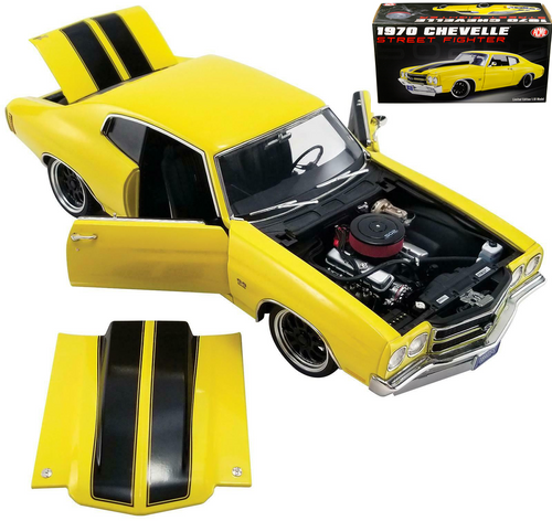 1970 CHEVROLET CHEVELLE STREET FIGHTER 1/18 SCALE DIECAST CAR MODEL BY ACME A 1805515