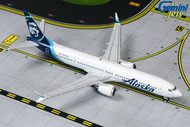 ALASKA AIRLINES 737 MAX 9 N913AK AIRPLANE 1/400 SCALE DIECAST MODEL BY GEMINI JETS GJASA1873