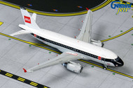 BRITISH AIRWAYS AIRBUS A319 BEA RETRO G-EUPJ AIRPLANE 1/400 SCALE DIECAST MODEL BY GEMINI JETS GJBAW1859