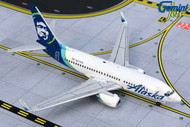 ALASKA AIRLINES BOEING 737-700W N614AS  AIRPLANE 1/400 SCALE DIECAST MODEL BY GEMINI JETS GJASA1871