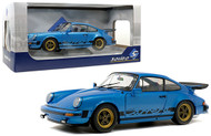 1984 PORSCHE 911 3.0 CARRERA COUPE BLUE 1/18 SCALE DIECAST CAR MODEL BY SOLIDO S1802601