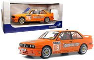1999 BMW E30 M3 DTM ARMIN HAHNE JAGERMAESTER #19 1992 1/18 SCALE DIECAST CAR MODEL BY SOLIDO S1801504