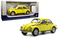 1974 VOLKSWAGEN BEETLE BUG 1303 SPORT YELLOW 1/18 SCALE DIECAST CAR MODEL BY SOLIDO S1800511