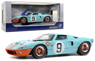 1968 FORD GT40 MKI 24HR LE MANS GULF #9 1/18 SCALE DIECAST CAR MODEL BY SOLIDO S1803001