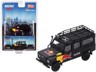 LAND ROVER DEFENDER 110 RED BULL LUKA LIMITED MIJO EXCLUSIVE 3600 MADE 1/64 SCALE DIECAST CAR MODEL BY TSM MINI GT MGT00110