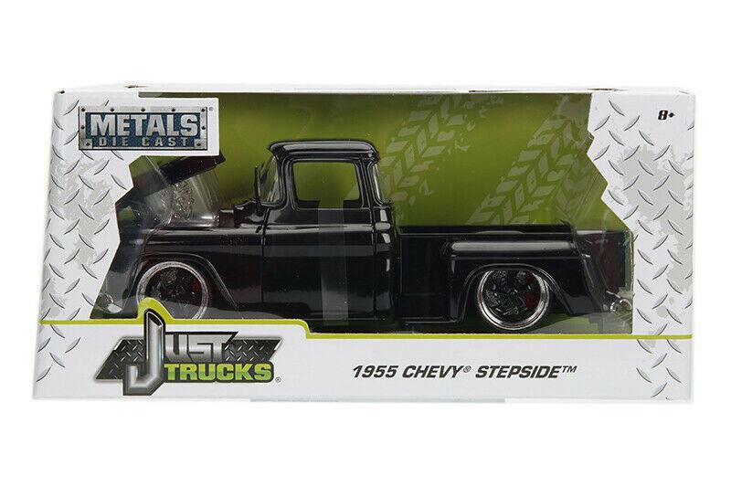 1955 Chevy Stepside Pickup Orange CHEVROLET 1:24 Jada Toys 99041