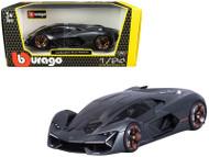 LAMBORGHINI TERZO MILLENNIO GREEN 2019 1/24 SCALE DIECAST CAR MODEL BY BBURAGO 21094