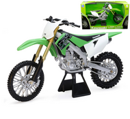 KAWASAKI KX450F DIRT BIKE MOTORCYCLE 1/6 SCALE BY NEWRAY 49653