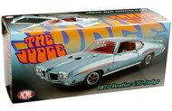1970 PONTIAC GTO JUDGE MINT TURQUOISE 1/18 DIECAST CAR MODEL BY ACME A 1801213