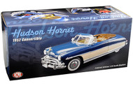 1952 HUDSON HORNET CONVERTIBLE BLUE & IVORY 1/18 SCALE DIECAST CAR MODEL BY ACME A1807504