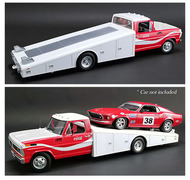 1970 FORD F-350 RAMP TRUCK COCA-COLA ALLAN MOFFAT RACING 1/18 SCALE DIECAST CAR MODEL BY ACME A 1801401