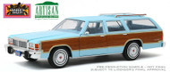 1979 FORD LTD COUNTRY SQUIRE STATION WAGON CHARLIES ANGELS 1/18 SCALE DIECAST CAR MODEL BY GREENLIGHT 19066