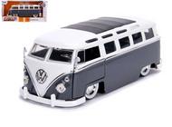 1962 VOLKSWAGEN BUS SAMBA VW 1/24 SCALE DIECAST CAR MODEL BY JADA TOYS 99057