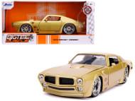 1972 PONTIAC FIREBIRD GOLD HOOKER 1/24 SCALE DIECAST CAR MODEL BY JADA TOYS 31459