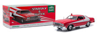 1976 FORD GRAN TORINO STARSKY AND HUTCH TV SERIES 1975-79 1/18 SCALE DIECAST CAR MODEL BY GREENLIGHT 19017