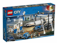 ROCKET ASSEMBLE & TRANSPORT 1055 PIECES 60229 CITY BY LEGO