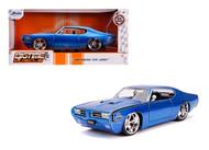 1969 PONTIAC GTO JUDGE 1/24 SCALE DIECAST CAR MODEL BY JADA TOYS 31667