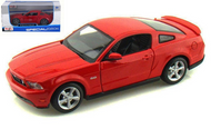 2006 FORD MUSTANG GT COUPE RED 1/24 SCALE DIECAST CAR MODEL BY MAISTO 31997