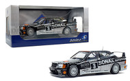 1990 MERCEDES BENZ 190 EVO II DTM SONAX #3 1/18 SCALE DIECAST CAR BY SOLIDO S1801002