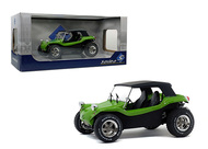 1968 MEYERS MANX BUGGY GREEN WITH WHITE SOFT TOP 1/18 SCALE DIECAST CAR MODEL BY SOLIDO S1802703