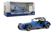 2014 CATERHAM SEVEN 275R ACADEMY BLUE 1/18 SCALE DIECAST CAR MODEL BY SOLIDO S1801802