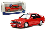 1990 BMW M2 E30 RED 1/18 SCALE DIECAST CAR MODEL BY SOLIDO S1801502