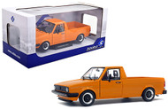 1982 VOLKSWAGEN CADDY MK1 VW ORANGE 1/18 SCALE DIECAST CAR MODEL BY SOLIDO S1803502