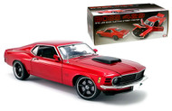 1970 FORD MUSTANG BOSS 429 STREET FIGHTER CANDY RED LIMITED EDITION 700 MADE 1/18 SCALE DIECAST CAR MODEL BY ACME A 1801836