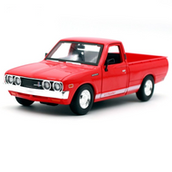 1973 DATSUN 620 PICKUP TRUCK RED 1/24 SCALE DIECAST CAR MODEL BY MAISTO 31522