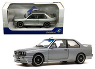 1990 BMW M3 E30 GREY 1/18 SCALE DIECAST CAR MODEL BY SOLIDO S1801506