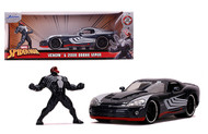 2008 DODGE VIPER MARVEL SPIDERMAN VENOM DIECAST FIGURE 1/24 SCALE DIECAST CAR MODEL BY JADA TOYS 31750