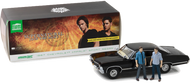 1967 CHEVROLET IMPALA SS SUPER SPORT WITH SAM & DEAN FIGURE SUPERNATURAL 1/18 SCALE DIECAST CAR MODEL BY GREENLIGHT 19021