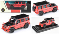 MERCEDES BENZ AMG G63 RED LIBERTY WALK  LBWK 1/64 SCALE DIECAST CAR MODEL BY PARAGON PARA64 55162