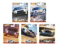 2020 CAR CULTURE THRILL CLIMBERS SET OF 5 1/64 SCALE DIECAST CAR MODEL BY HOT WHEELS FPY86-956R