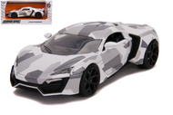 LYKAN HYPERSPORT CAMOUFLAGE HYPER SPEC 1/24 SCALE DIECAST CAR MODEL BY JADA TOYS 32273