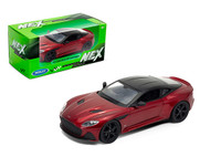 ASTON MARTIN DBS SUPERLEGGERA RED 1/24 SCALE DIECAST CAR MODEL BY WELLY 24095