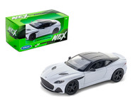 ASTON MARTIN DBS SUPERLEGGERA WHITE 1/24 SCALE DIECAST CAR MODEL BY WELLY 24095