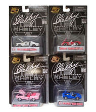 CARROLL SHELBY SET OF 4 1/64 SCALE DIECAST CARS BY SHELBY COLLECTIBLES 16403N