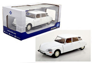 1972 CITROEN D SPECIAL WHITE 1/18 SCALE DIECAST CAR MODEL BY SOLIDO S1800705