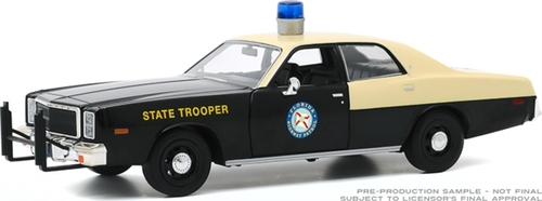 1978 PLYMOUTH FURY FLORIDA HIGHWAY PATROL POLICE 1/24 SCALE DIECAST CAR MODEL BY GREENLIGHT 85512