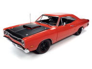 1969 1/2 DODGE CORONET SUPER BEE MCACN 1/18 SCALE DIECAST CAR MODEL BY AUTO WORLD AMM1231