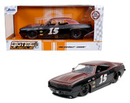 1969 CHEVROLET CAMARO SS #15 BTM 1/24 SCALE DIECAST CAR MODEL BY JADA TOYS 32303