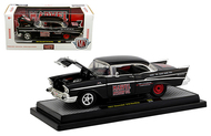 1957 CHEVROLET 210 HARDTOP MARVEL MYSTERY OIL 1/24 SCALE DIECAST CAR MODEL BY M2 MACHINES 40300-80B