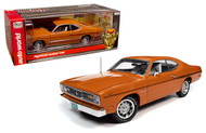 1970 PLYMOUTH DUSTER 340 1/18 SCALE DIECAST CAR MODEL BY AUTO WORLD AMM1239