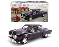 1951 STUDEBAKER CHAMPION RICH BLACK CHERRY 500 PIECES MADE 1/18 SCALE DIECAST CAR MODEL BY ACME A 1809201