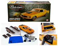 1970 FORD MUSTANG BOSS 429 PORKCHOPS  BARN FINDS 650 PIECES MADE INCLUDES TRAILER & ACCESSORIES 1/18 SCALE DIECAST CAR MODEL BY ACME A 1801838