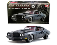 1970 CHEVROLET CHEVELLE 454 SS STREET FIGHTER GFORCE 774 PIECES MADE 1/18 SCALE DIECAST CAR MODEL BY ACME A1805517