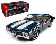 1969 OLDSMOBILE CUTLASS 442 W-30 DR. OLDS 1/18 SCALE DIECAST CAR MODEL BY AUTO WORLD AMM1235